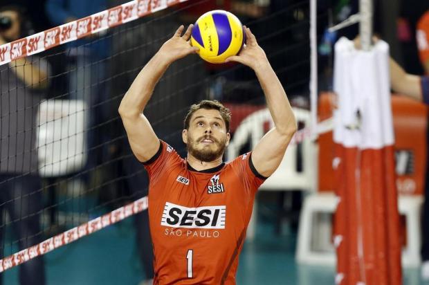 'Era o momento de retornar', diz Bruninho Gaspar Nóbrega/Inovafoto/CBV,Divulgação