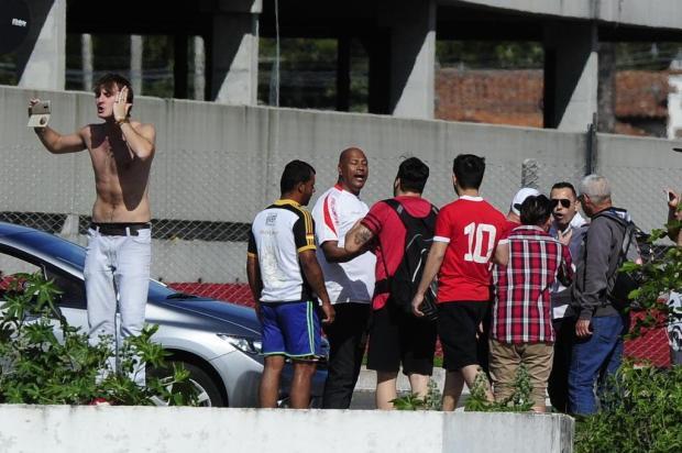 """Zé Victor Castiel: """"Protesto é necessário, mas sem violência """" Lauro Alves/Agencia RBS"""