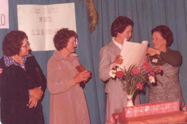 Os 40 anos do Clube de Mães Sorriso Acervo pessoal de Delma Brandalise/Divulgação