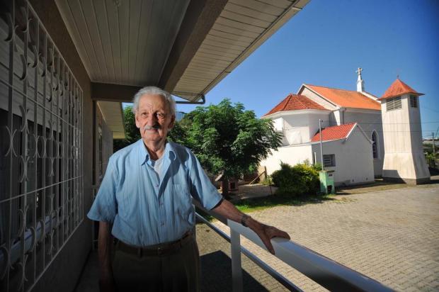 O centenário de Italino Pedron Diogo Sallaberry/Agencia RBS