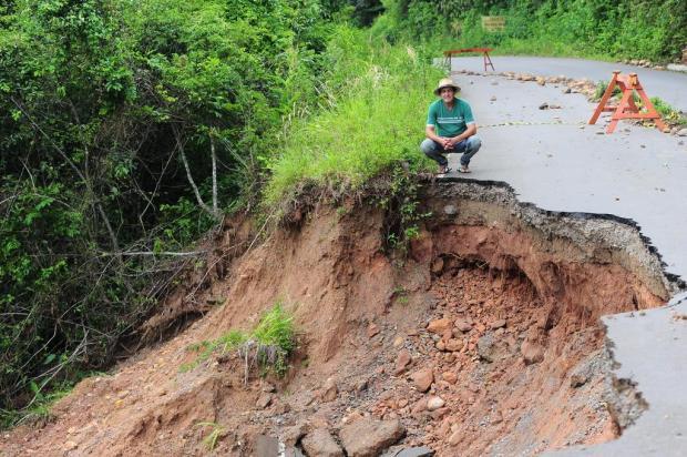Estradas do interior de Caxias do Sul ainda sofrem efeitos da enxurrada Porthus Junior/Agencia RBS