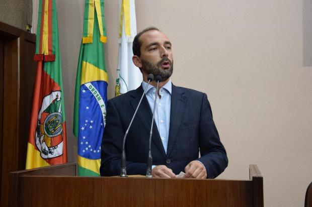 Vereador defende movimento da Câmara pela segurança Douglas Hoffmann/Divulgação