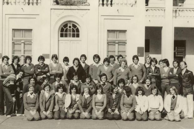 Encontro da turma de 1976 do Carmo Acervo pessoal/Divulgação