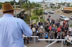Trabalhadores da Guerra SA, de Caxias, paralisam atividades Marcele Brusa Maciel/Divulgação