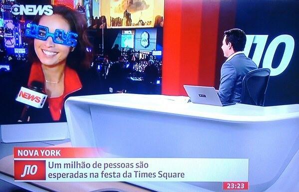 Direto da Big Apple, jornalista gaúcha brilha na GloboNews Arquivo pessoal / Arquivo pessoal/Arquivo pessoal