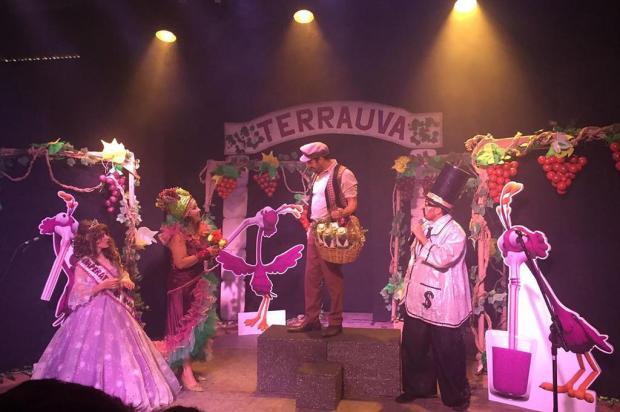 """Espetáculo """"No Mundo do Suco de Uva"""" será apresentado nesta terça, em Caxias Diego Bertolini/Divulgação"""