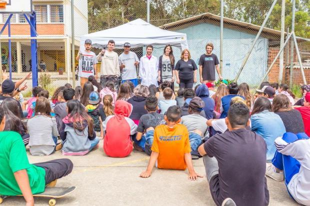 Projeto quer aproximar comunidade da vida escolar em Caxias do Sul Igor Farias Coelho/Divulgação