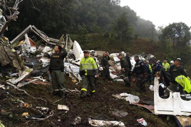 Profissionais ligados à dupla Ca-Ju lamentam morte de amigos que estavam no voo da Chapecoense Cr Wilson Pardo/Policía Antioquia