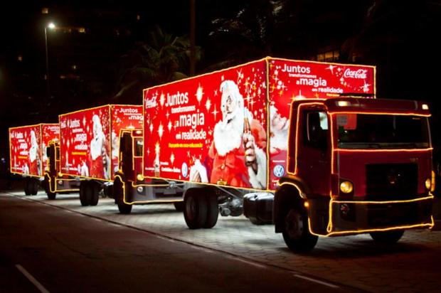 3por4: Caravana de Natal Coca-cola irá desfilar neste domingo, em Farroupilha divulgação/divulgação