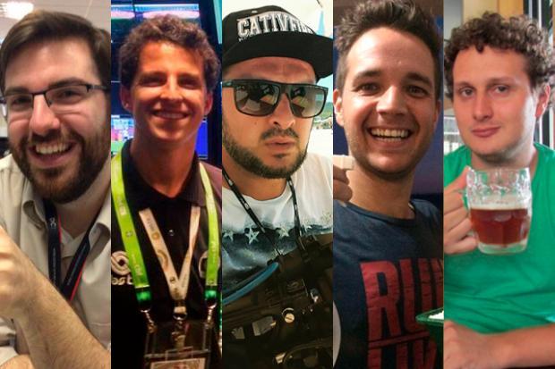 Quem são os jornalistas do grupo RBS/SC que estavam no voo da Chapecoense na Colômbia Arte DC / RBS/RBS