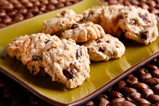 Aprenda a fazer cookie de nozes com chocolate sem glúten Divulgação/