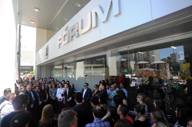 Juízes e promotores de Caxias do Sul protestam contra mudanças em pacote anticorrupção Felipe Nyland/Agencia RBS