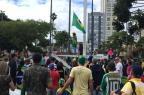 Manifestantes se reúnem em Caxias para protestar contra a corrupção no Brasil André Tajes / Agência RBS/Agência RBS