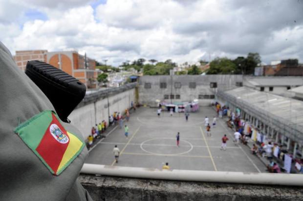 Presídio Regional de Caxias terá novo muro para dificultar fugas Marcelo Casagrande/Agencia RBS