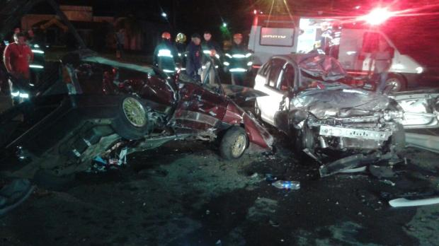 Morre em Caxias do Sul vítima de acidente que deixou outras sete pessoas feridas Brigada Militar / Divulgação/