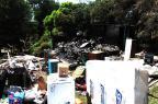 Moradia é destruída após incêndio em Caxias do Sul Roni Rigon/Agencia RBS