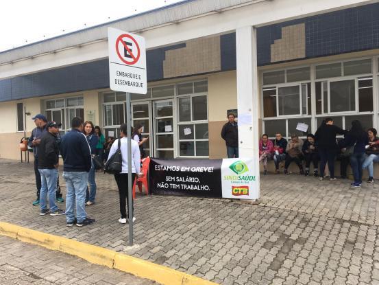 Funcionários de fundação de saúde que atuava em Bento ainda não receberam o salário de abril Suelen Mapelli /Gaúcha Serra / Agência RBS/Agência RBS