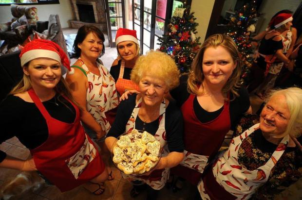 Tradicional receita de Natal reforça laços entre três gerações de mulheres, em Caxias Felipe Nyland/Agencia RBS