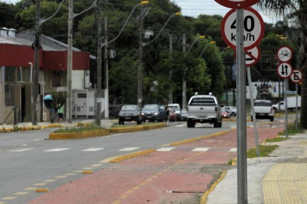 Estrada do Imigrante, em Caxias, será a primeira a receber faixa para ciclistas Marcelo Casagrande/Agencia RBS