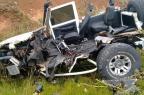 Identificado homem morto em acidente na Rota do Sol, em São Francisco de Paula PRF/Divulgação