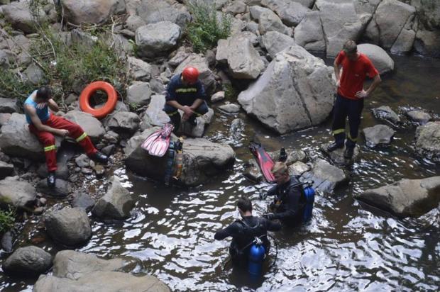 Número de afogamentos na Serra e no litoral serve de alerta para cuidados na água Bombeiros Nova Petrópolis/Divulgação