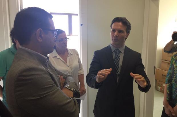 No primeiro dia de governo, Guerra reúne secretários e visita a UPA Zona Norte em Caxias André Tajes / Agência RBS/Agência RBS