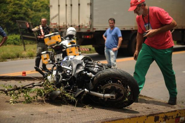 Pai e filho morrem em acidente na RSC-453, em Farroupilha Diogo Sallaberry/Agencia RBS
