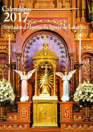 3por4: Calendários da Paróquia de Lourdes e do Pe. João Schiavo reúnem imagens e informações de fé Liliane Giordano/Divulgação