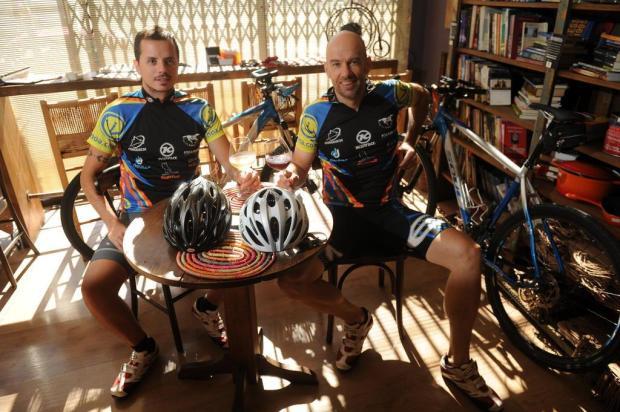 Caxienses vão percorrer mil quilômetros de bicicleta até o Uruguai Diogo Sallaberry/Agencia RBS