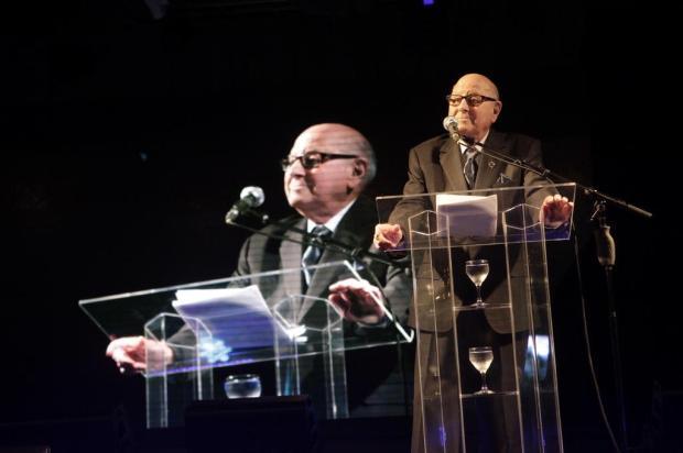 Festa para 800 convidados marcou a passagem dos 90 anos de Paulo Bellini em janeiro, em Caxias Daniela Xu/Divulgação