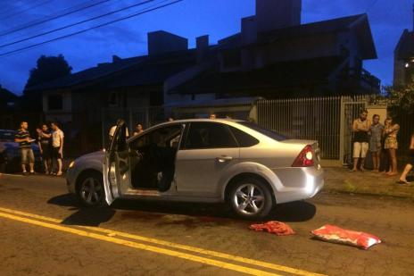 Morre mulher baleada no bairro Bela Vista, em Caxias do Sul (Juliana Bevilaqua/Agência RBS)