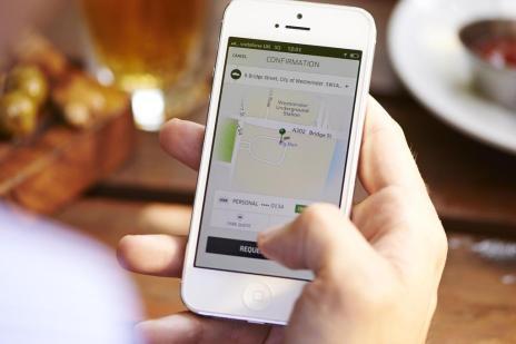 MP prorroga prazo para regulamentação de aplicativos de transporte em Caxias (Uber/Divulgação)