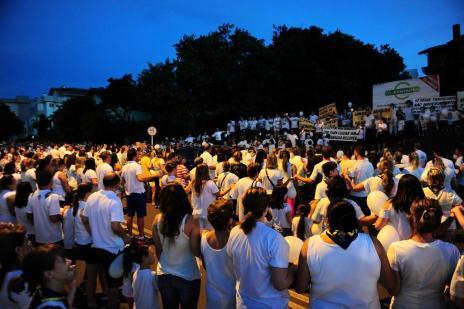 Cerca de 500 pessoas cobram ações contra a insegurança em Caxias do Sul (Porthus Junior/Agencia RBS)