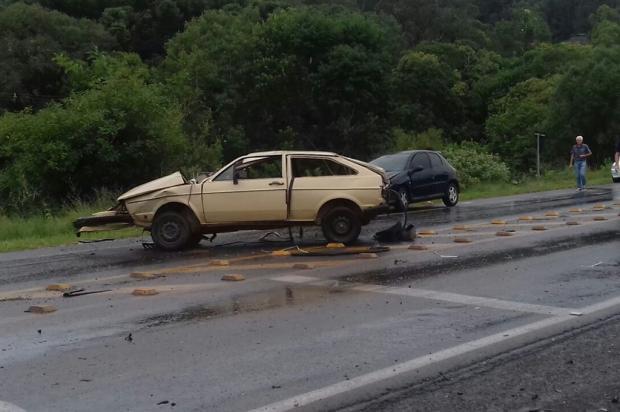 Acidente entre três veículos deixa feridos e reforça os perigos no Pedancino, em Caxias do Sul Artur Brandalise / Divulgação/Divulgação