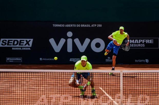 Marcelo Demoliner e Marcus Daniell avançam para a semifinal do Brasil Open DGW Comunicação/Divulgação