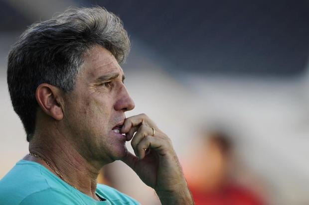 """Cacalo: """"O que Renato deverá fazer no jogo de estreia da Libertadores """" Mateus Bruxel/Agencia RBS"""
