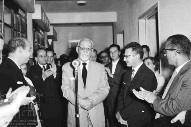 Hospital Virvi Ramos completa 60 anos Studio Geremia/Arquivo Histórico Municipal João Spadari Adami