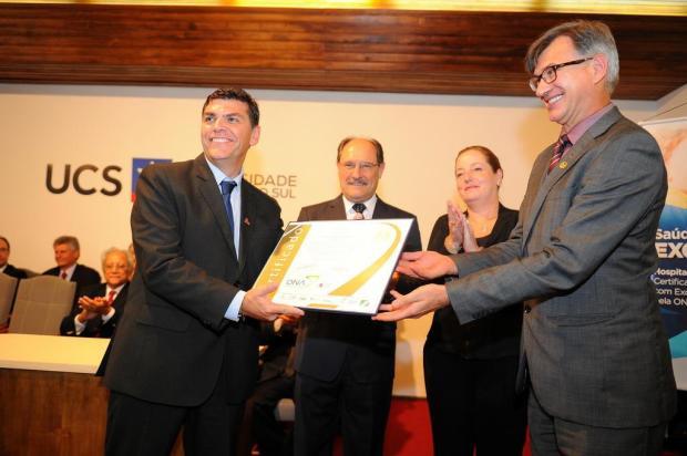 HG de Caxias recebe certificado de excelência e entra para seleto grupo de instituições do RS Felipe Nyland/Agencia RBS
