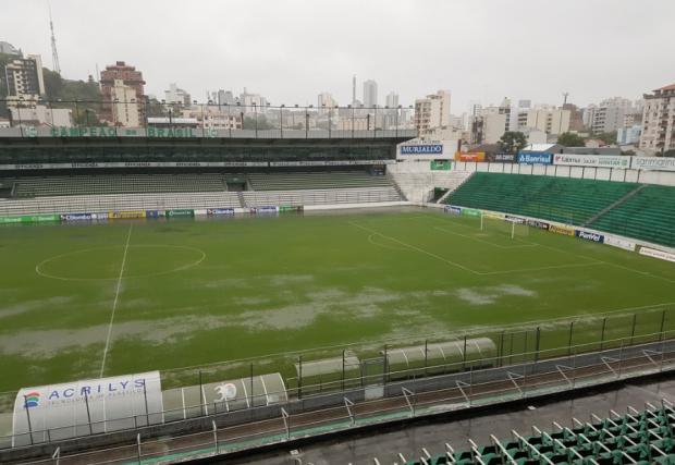 Chuva alaga Alfredo Jaconi, mas Juventude x Inter segue confirmado Rodrigo Oliveira / Agência RBS/Agência RBS
