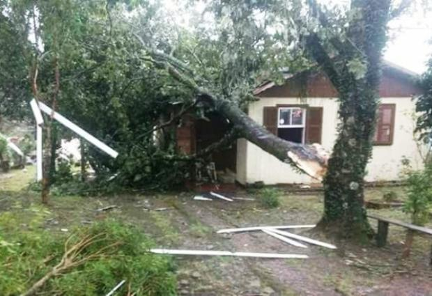 Prefeitura de São Francisco de Paula vai decretar calamidade pública após temporal Corpo de Bombeiros  / Divulgação/Divulgação