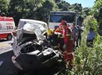 Duas pessoas ficam feridas em acidente em Carlos Barbosa Altamir Oliveira / Estação FM/ Divulgação/Estação FM/ Divulgação