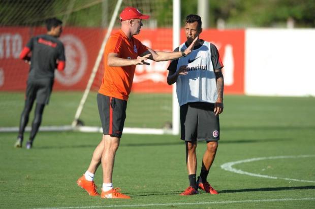 """Guerrinha: """"Jogo contra o Sampaio Corrêa virou um amistoso"""" Luiz Armando Vaz/Agencia RBS"""