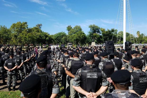Serra perde 14 policiais militares para Operação Avante em Porto Alegre Omar Freitas/Agencia RBS
