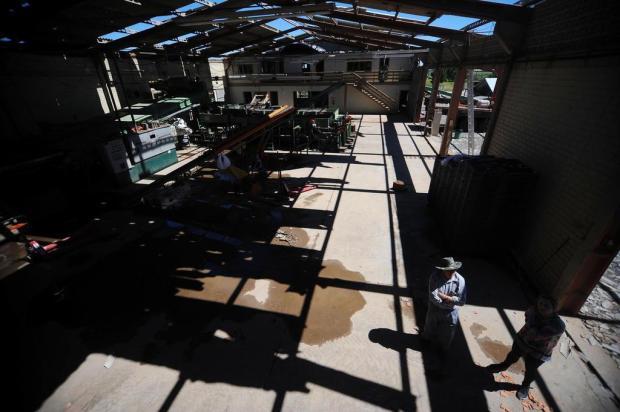 Empresas de São Francisco de Paula somam prejuízo de R$ 21 milhões após tempestade Diogo Sallaberry/Agencia RBS