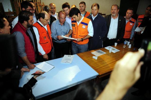 Em visita a São Francisco de Paula, ministro e governador garantem união de esforços Marcelo Casagrande/Agencia RBS