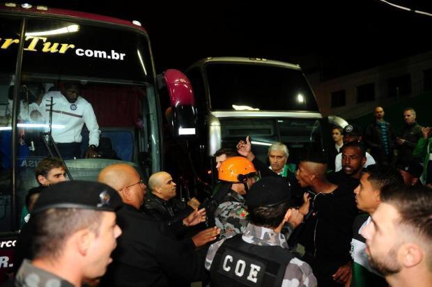 Presidentes dos dois clubes criticam postura dos jogadores em confusão após o Ca-Ju Diogo Sallaberry/Agencia RBS