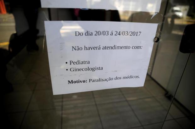 38% dos médicos aderiram à greve da categoria, em Caxias do Sul Marcelo Casagrande/Agencia RBS