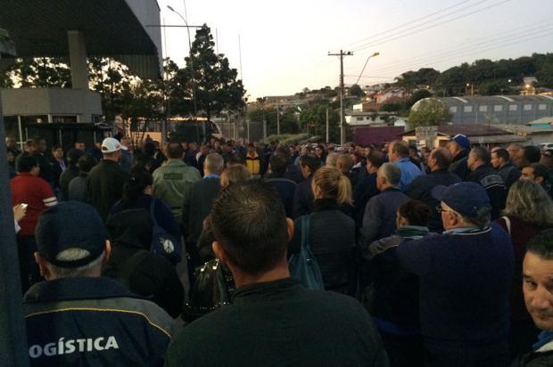 Em assembleia, trabalhadores da Visate decidem encerrar a greve às 13h desta terça-feira Carolina Klóss / Agência RBS/Agência RBS