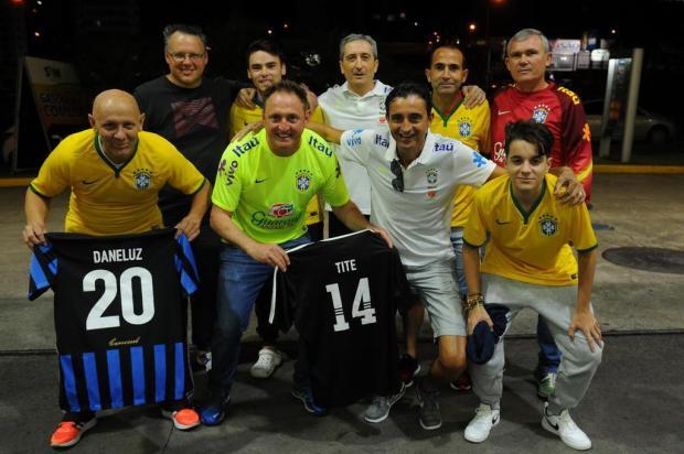 Irmão e amigos de Tite viajam de motorhome ao Uruguai para torcer pela Seleção Brasileira Felipe Nyland/Agencia RBS