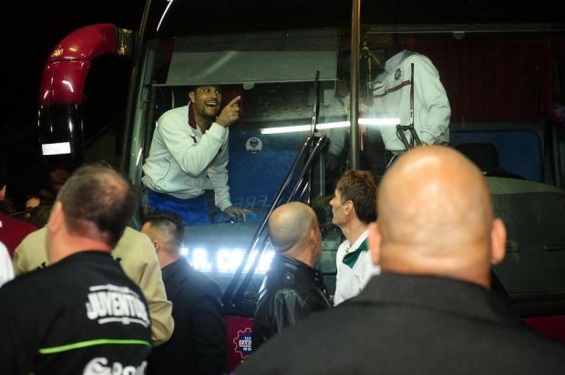 TJD-RS denuncia Wagner, Pitol, Ruan, Hugo Martins e Juventude pela confusão no Ca-Ju 281 Diogo Sallaberry/Agencia RBS
